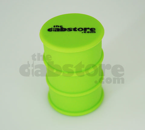 Green Silicone Oil Barrel Drum Non Stick Container