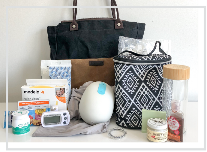 17 Helpful Items for a Working Mom's Pumping Bag