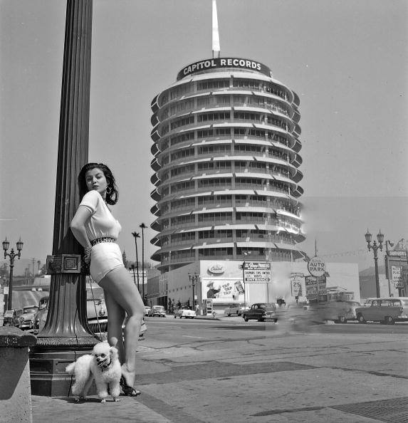 Looking Good in front of Capitol Records