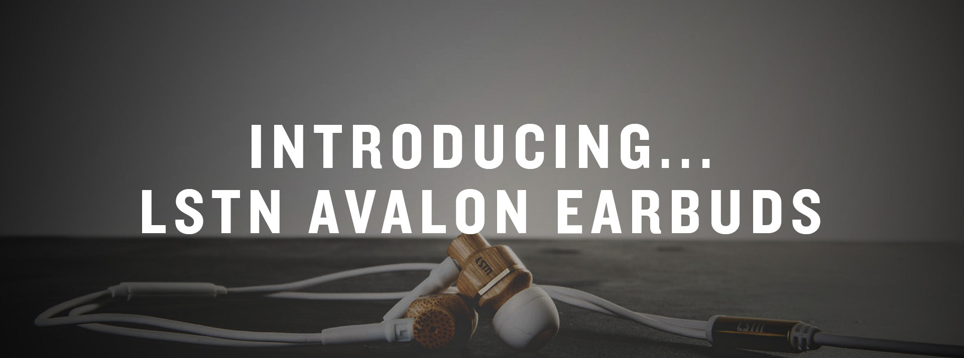 lstn avalon wood earbuds