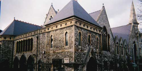 The Exterior of Church Studios