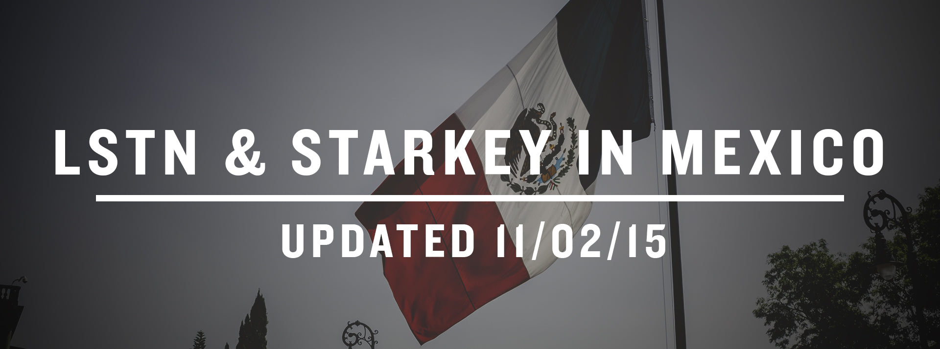 Recap: LSTN & Starkey Hearing Foundation in Mexico