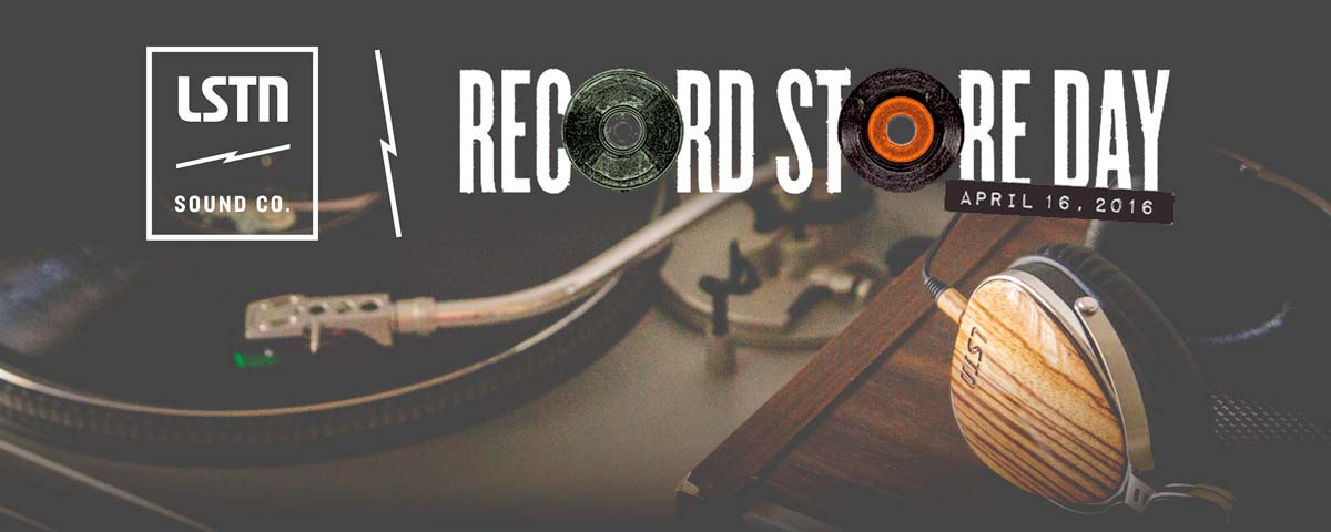 Record Store Day 2016 x LSTN Record Store