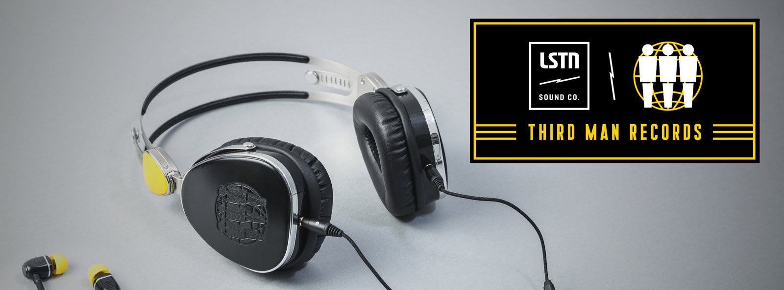 third man records wood headphones jack white and lstn sound co
