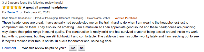 Troubadour Review via Amazon