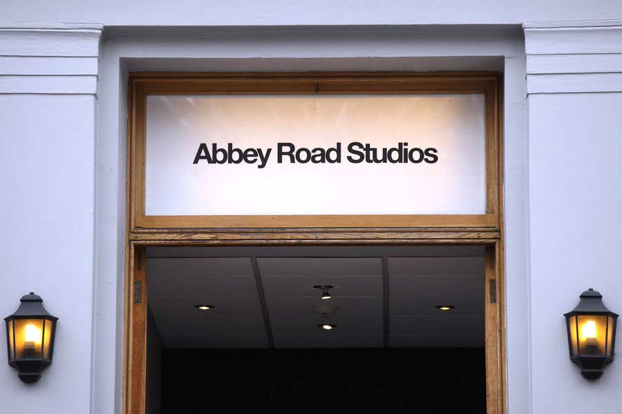 The Main Door to Abbey Road