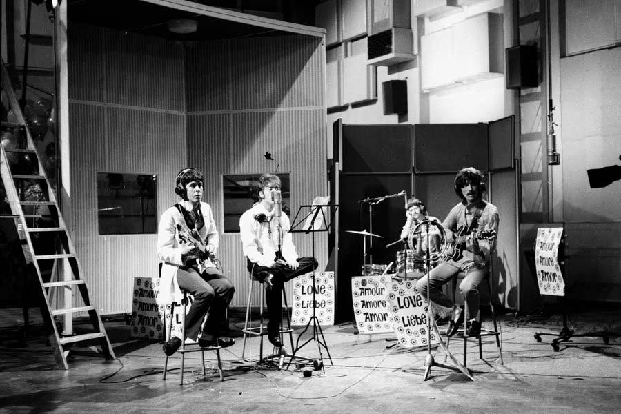 The Beatles Recording at Abbey Road