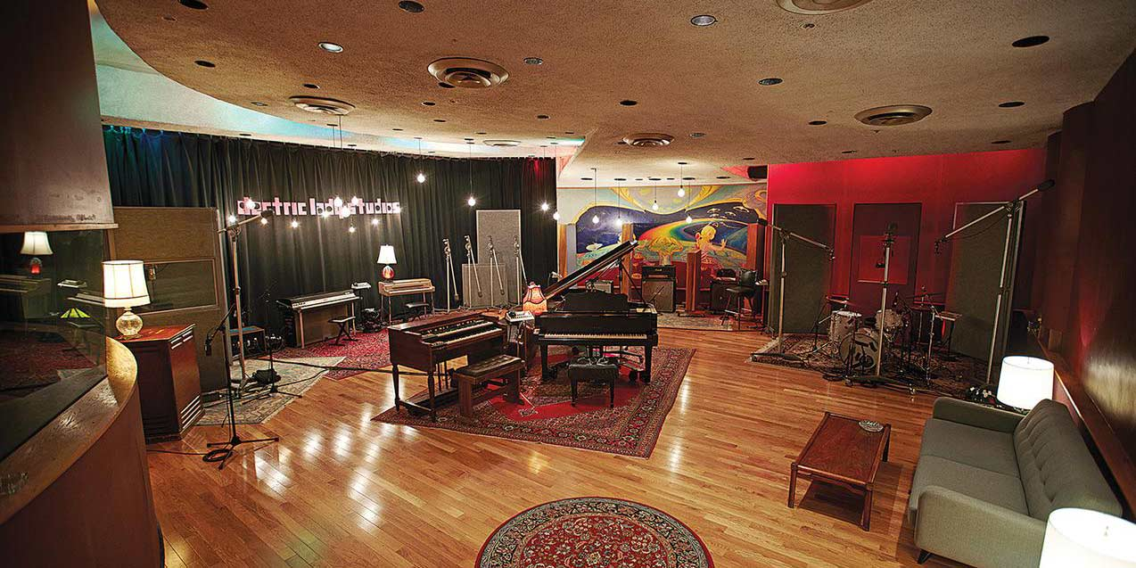 The Main Room at Electric Lady Studios