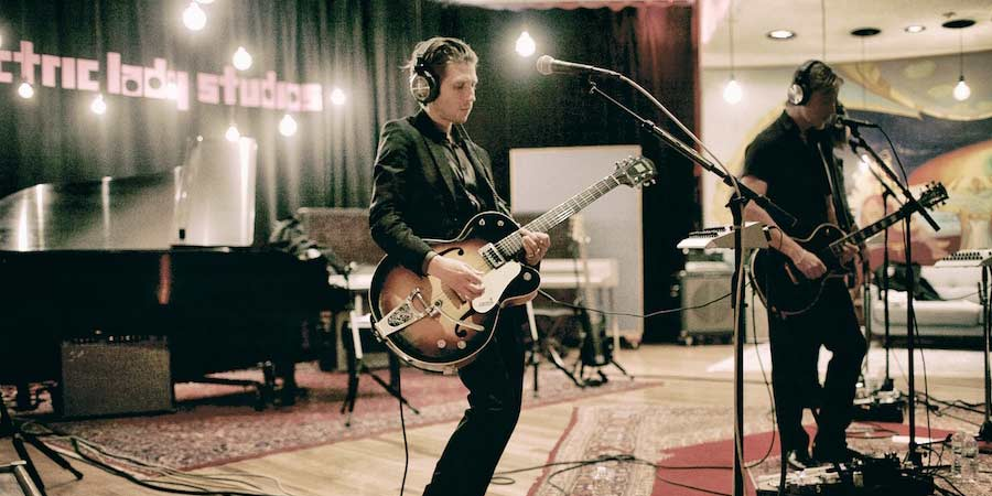 Interpol Recording at Electric Lady Studios
