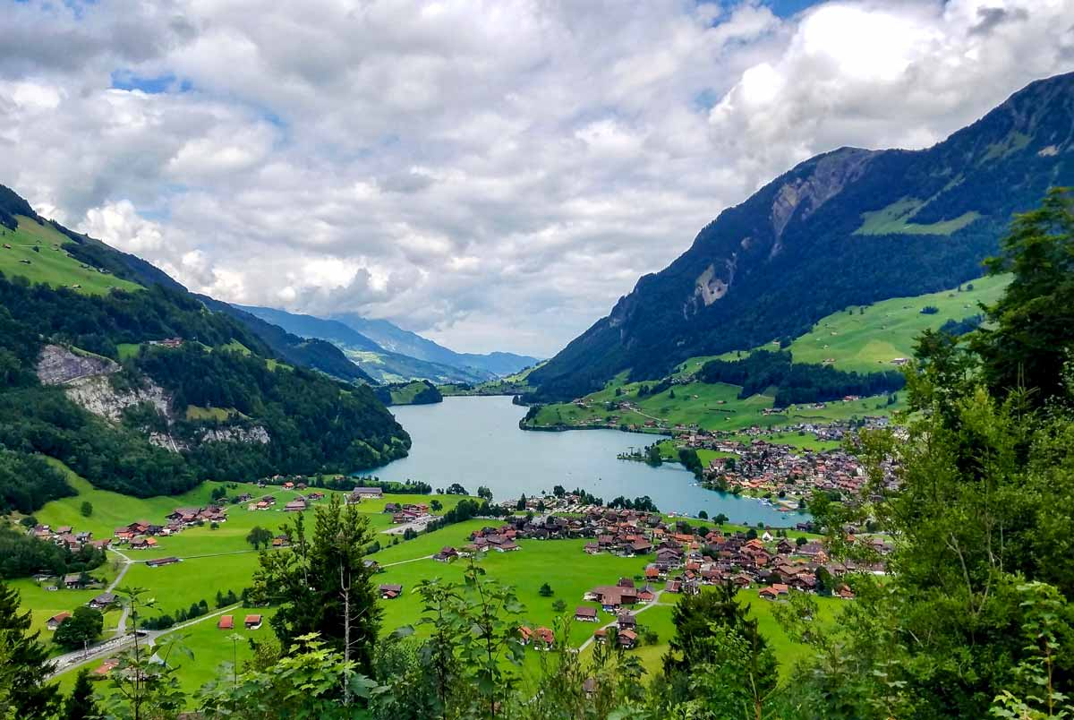 Lungern and the Lungersee