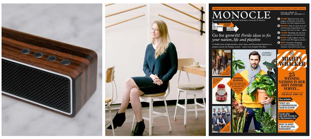 Monocle Interviews Bridget Hilton about making a difference