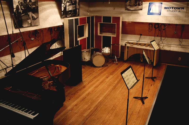 The Main Room - Studio A at Hitsville, USA