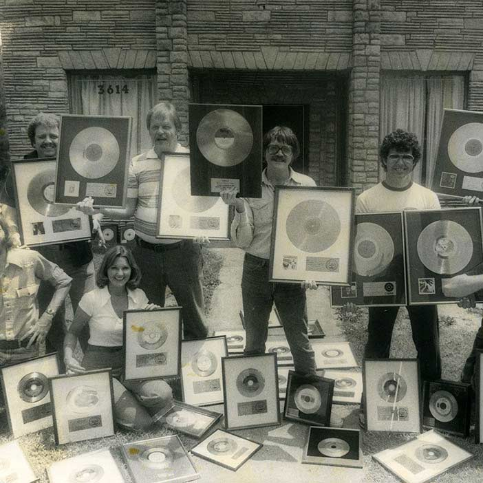 Gold Records Recorded at Muscle Shoals Studio