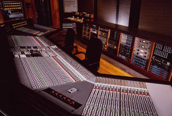 The main board at Paisley Park Studios