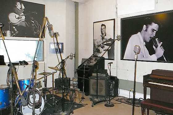 The Main Room at Sun Studios