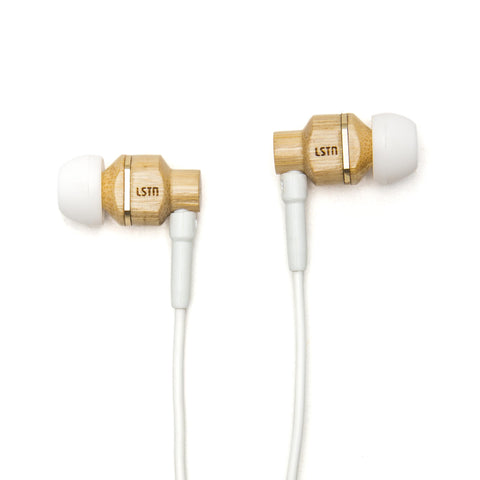 Bamboo Avalon Earbuds w/mic