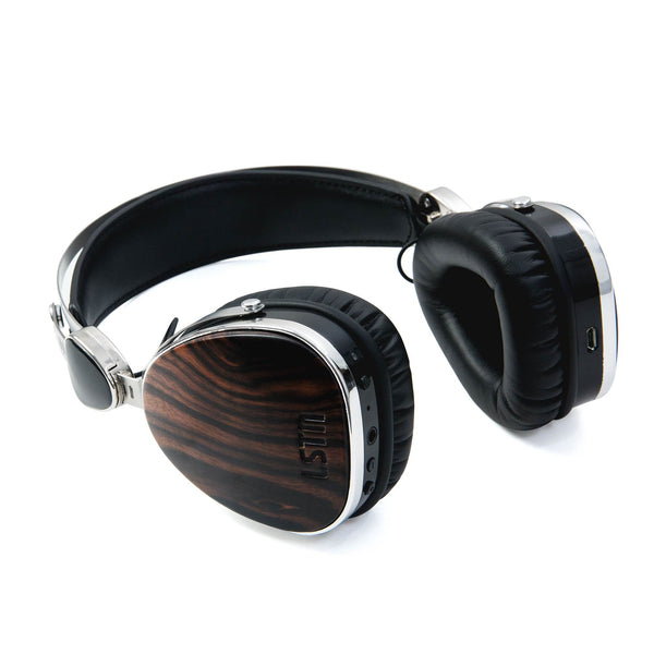 Wireless Ebony Wood Troubadours