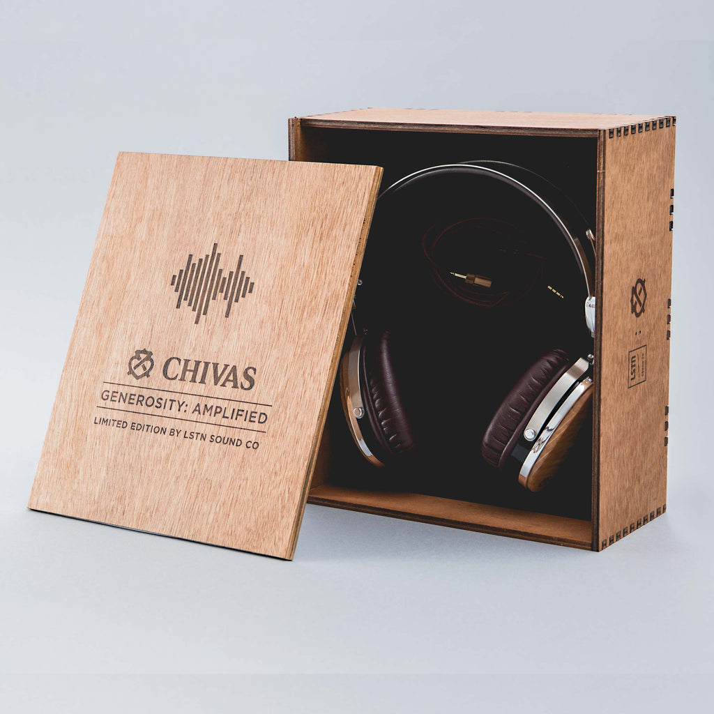 Chivas Whisky Barrel Wood Troubadours