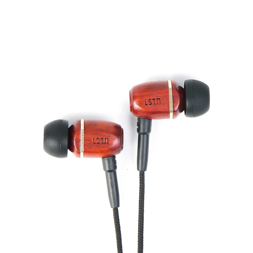 Cherry Bowery Earbuds w/ mic - Sample