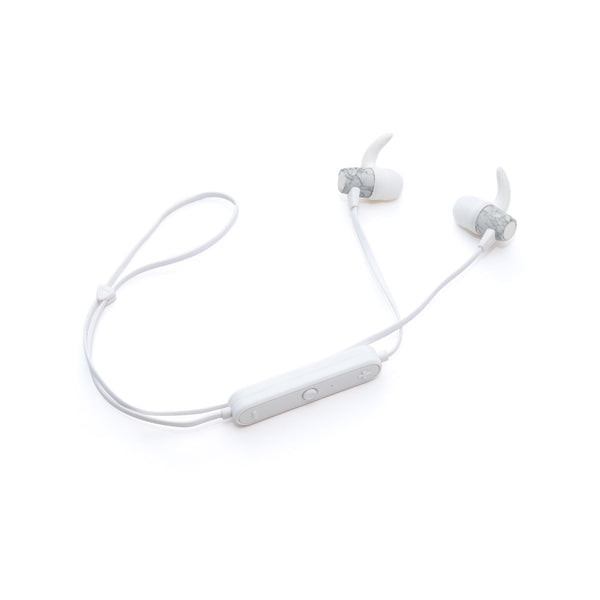 Crescent Bluetooth Earbuds - Marble