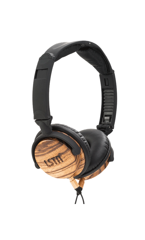 Zebra Wood Fillmore Headphones - Sample