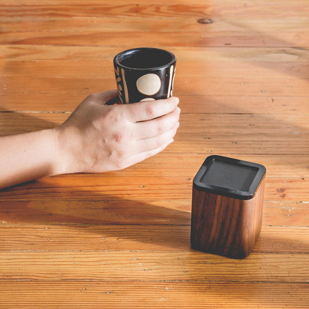 Walnut Wood Satellite Bluetooth Speaker