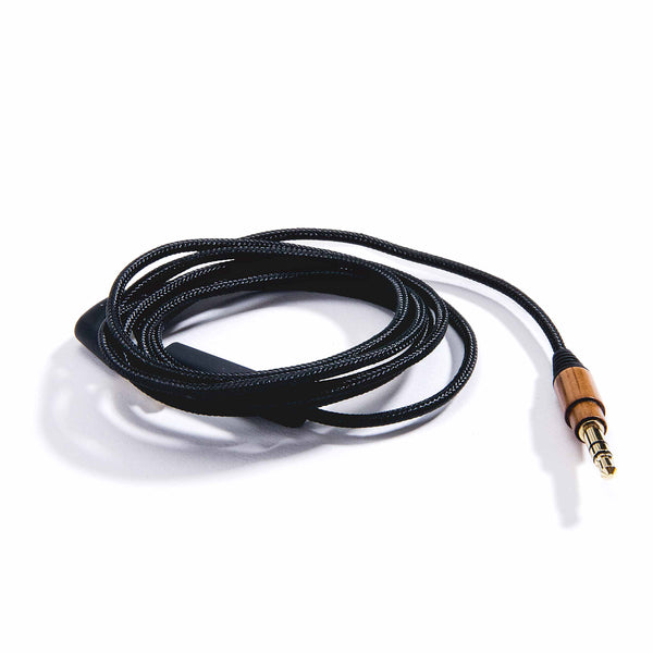 Nylon Auxiliary Cables  - Zebra Wood