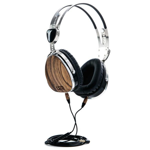 Zebra Wood Troubadour Headphones - Sample