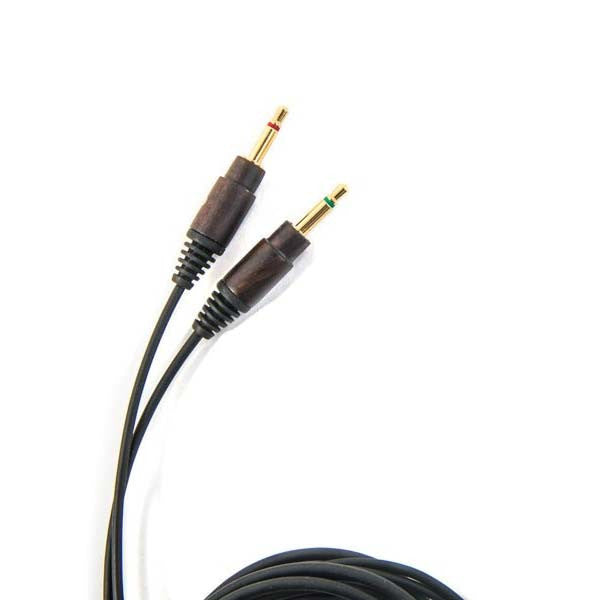 Rubber Replacement Cables - Ebony Wood