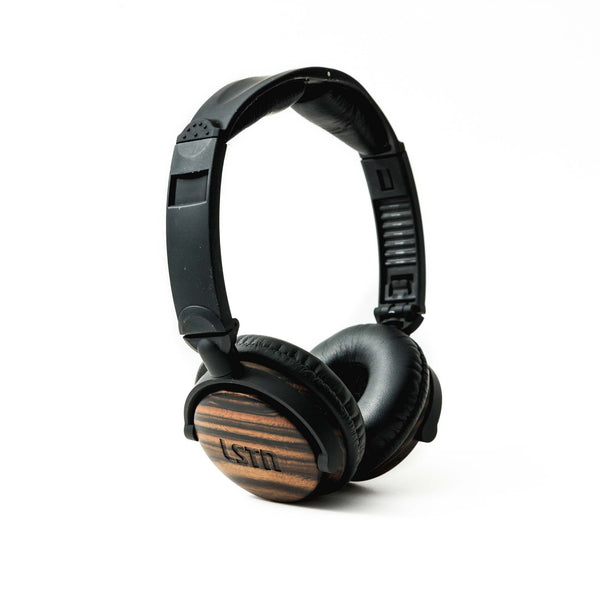 Ebony Wood Fillmore Headphones - Sample