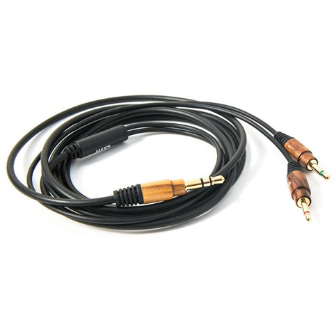 LSTN Studio Cable without Microphone in Zebra Wood