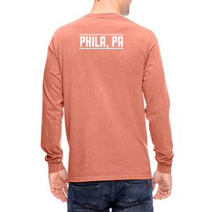 Long Sleeve Unisex Pocket Tee
