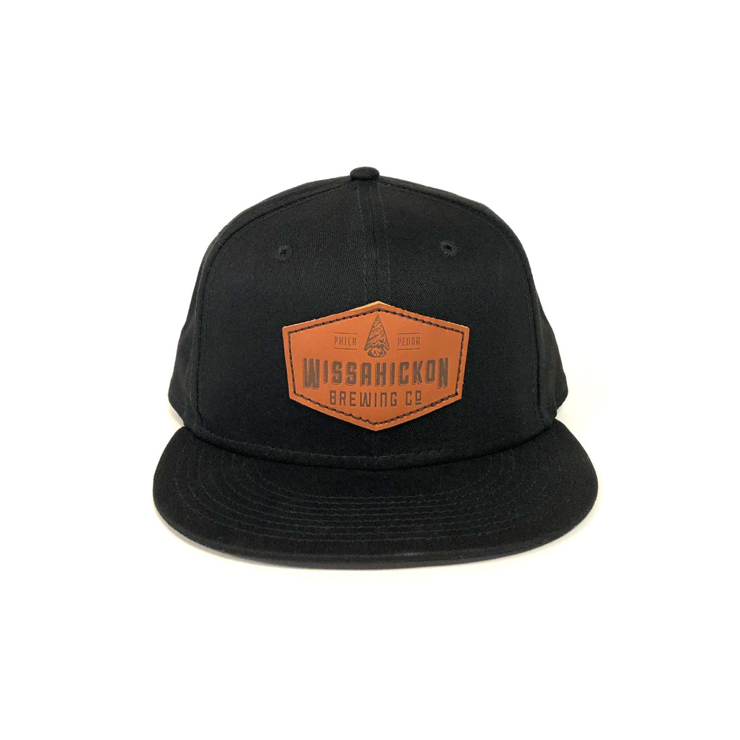 Leather Patch Hat (Baseball Cap)