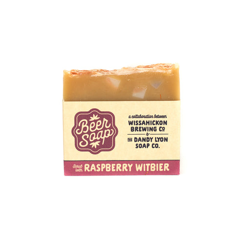 Beer Infused Soap (Raspberry Wit)