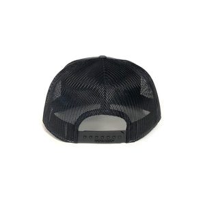 Leather Patch Hat (7 Panel Trucker Hat)