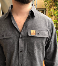 Load image into Gallery viewer, Flannel w/ Leather Patch