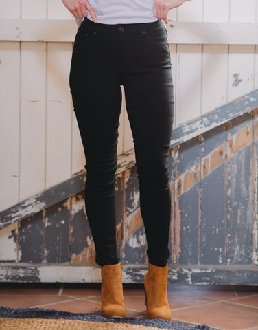 Wakee Black Axel Super Stretch Jeans