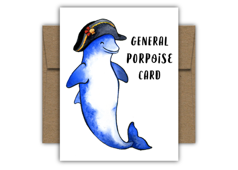 General Porpoise Card C110