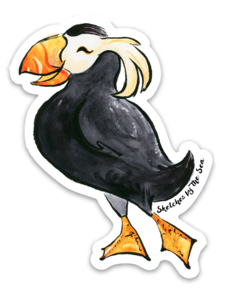 Tufted Puffin Sticker ST803