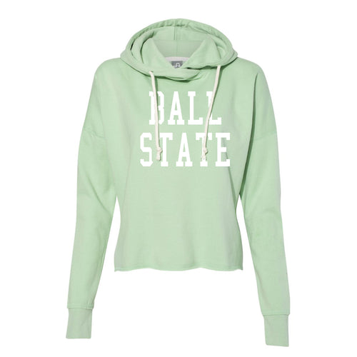 Ladies Throw Back Lounge Fleece - Julep Green