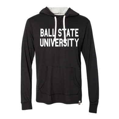 BSU Original Tri Blend Hooded Pullover