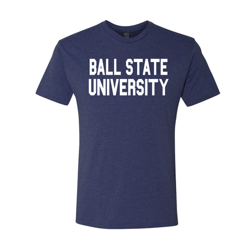 Triblend Ball State University Tee