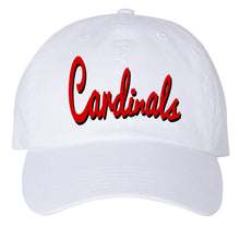 Load image into Gallery viewer, Cardinal Washed Classic Dad Hat