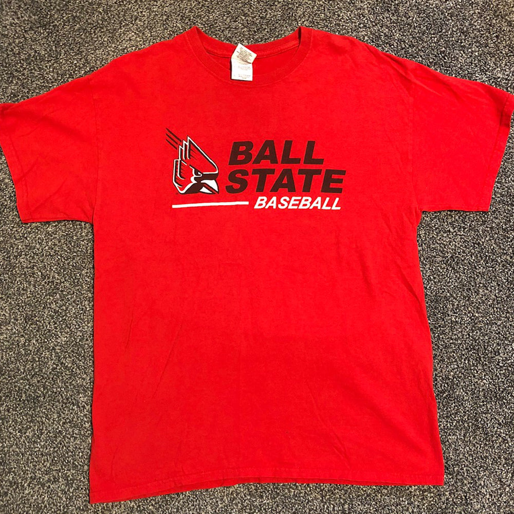 Ball State Baseball Short Sleeve - Size: Large