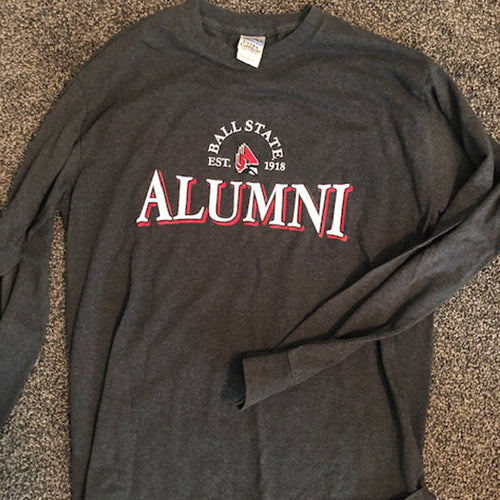 Vintage Long Sleeve Alumni Tee - Size: Large