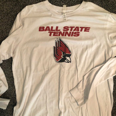 Long Sleeve BSU Tennis Tee - Size: Small