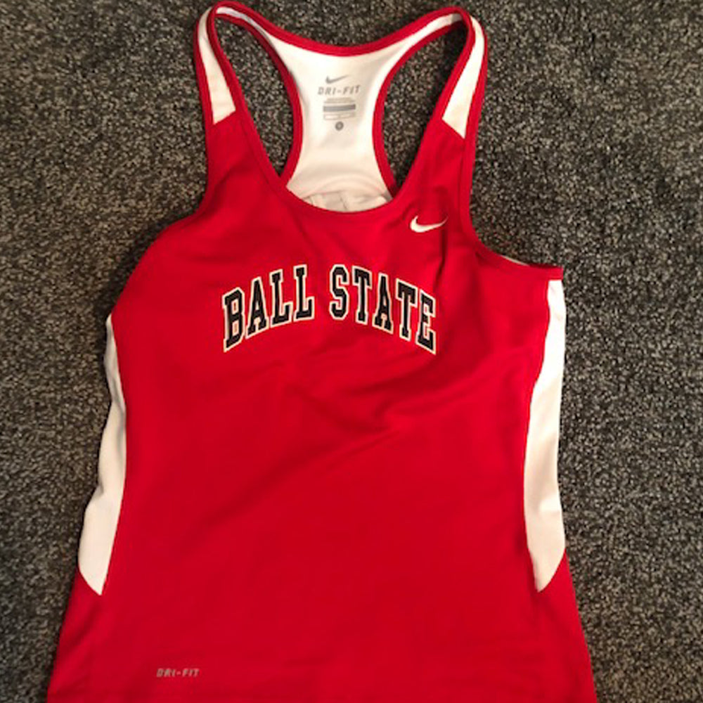 Authentic BSU Track Singlet - Size: Small