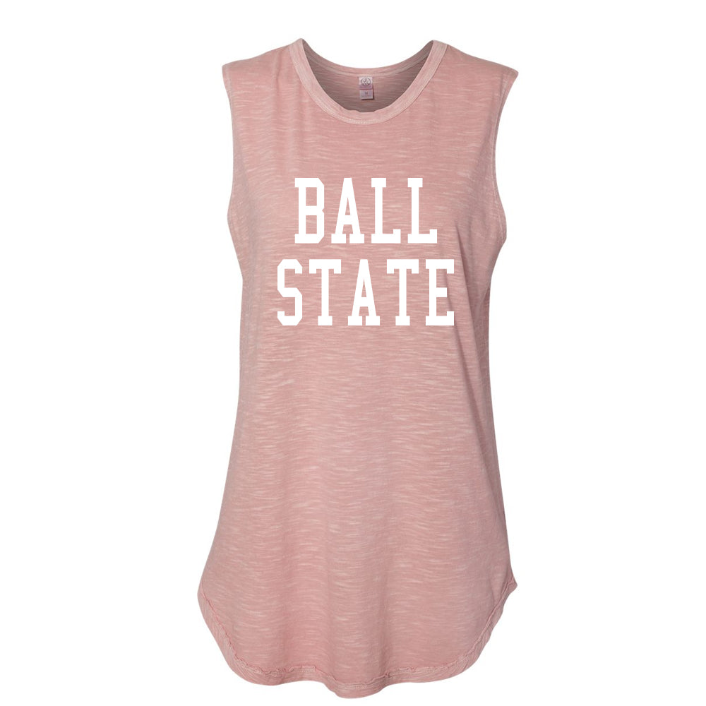 Ladies Inside Out Sleeveless BSU Tank