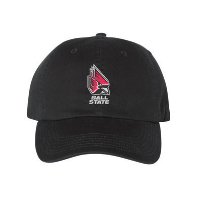 Champion - Ball State Black Dad's Cap