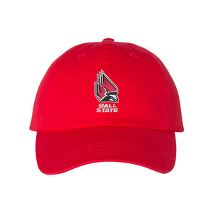 Champion - Ball State Red Dad's Cap